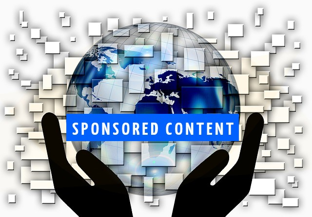 Sponsrade artiklar - innehållsmarknadsföring